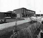 The school under construction in 1980 [PY-PH47-1]